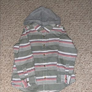 Other - Button Down With Hood